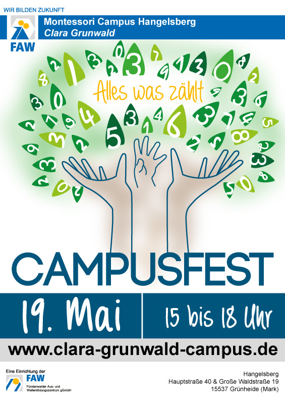 Montessori Campus Hangelsberg Clara Grunwald_Campusfest am 19. Mai 2017