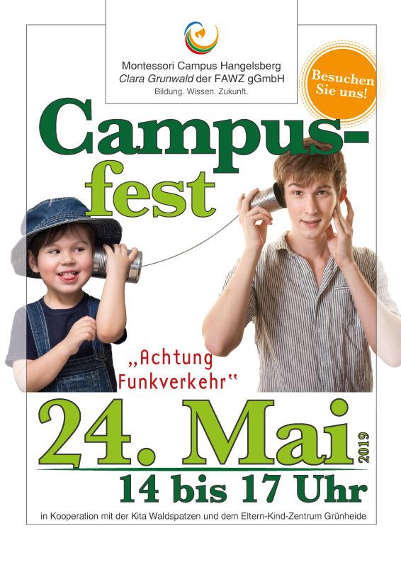 Clara-Grunwald-Campus der FAWZ gGmbH_Campusfest am 24. Mai 2019